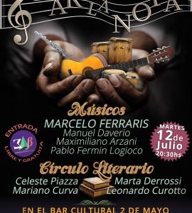 "Afiche para evento ""Dar la Nota"""